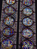 Stained Glass Window, Paris, France Photographic Print