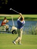 Golfer Photographic Print
