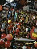 Fishing Tackle Box Photographic Print