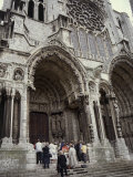 Chartres Cathedral, Chartes, France Photographic Print