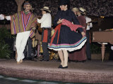 Peruvian Dance, Santiago, Chile Photographic Print