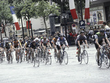 Tour de France Finals Photographic Print