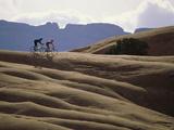 Mountain Biking Couple Photographic Print