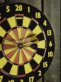 Darts and Dartboard Photographic Print