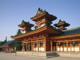 Heian Shrine (Heian-Jingu), Kyoto, Honshu, Japan Photographic Print
