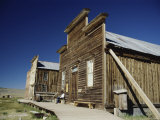 Main Street, Bodie State Historic Park, California, USA Photographic Print