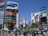 Shibuya, Tokyo, Honshu, Japan Photographic Print