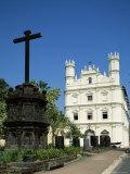 Church of St. Augustine, Old Goa, Goa, India Photographic Print
