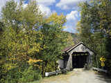 Charming Covered Bridge Photographic Print