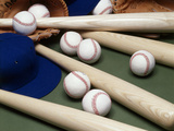 Baseball Still Life Photographic Print