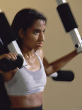 Strength Training Photographic Print