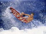 Airborne Surfer Photographic Print