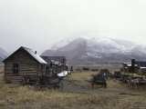 Old Trail Town, Cody, Wyoming, USA Photographic Print