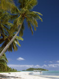 Atoll, Aitutaki Island, Cook Islands, French Polynesia, South Pacific Photographic Print