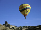 Red Rock Balloon Festival, New Mexico, USA Photographic Print