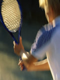 Tennis Impression Photographic Print