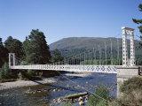 Invercauld Bridge and River Dee, Braemar, Grampian, Scotland Photographic Print