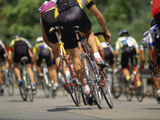 Competitive Cycling Photographic Print