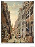 Brandstweite in Hamburg, 1775 Giclee Print by C. F. Feldt