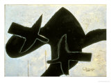 Reclining Nude Giclée-tryk af Georges Braque