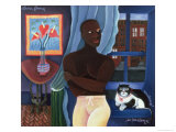 Waiting in Harlem, 1997 Giclee Print by Laura James