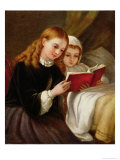 Bedtime Story Giclee Print by Charles Compton