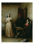 Charlotte Corday Giclee Print by M.f. Thomas