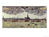 View of Vienna, 1672 Giclee Print by Georg Matthaus Vischer