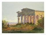 Landscape at Paestum Giclee Print by Arthur Glennie