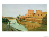 Philae on the Nile, 1894 Giclee Print by Alexander West