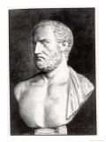 Bust of Thucydides Giclee Print by Felix Jules Lacaille