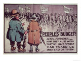 The People's Budget', 1909 Giclee Print by Jack Walker