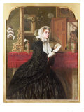 The Love Letter, 1861 Giclee Print by Rebecca Solomon
