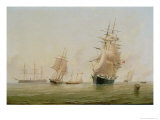 Ship Painting Giclee Print by William Frederick Settle