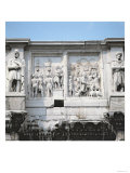 Detail from the Arch of Constantine, Built to Celebrate the Emperor's Victory over Maxentius Giclee Print