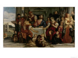 Supper at Emmaus Giclee Print by Paolo Veronese