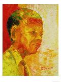 Mandela, 1993 Giclee Print by Bayo Iribhogbe