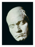 Mask of Beethoven Giclee Print by Franz Klein