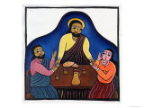 Supper at Emmaus Giclee Print by Laura James