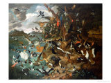 The Parliament of Birds Giclee Print by Carl Wilhelm De Hamilton