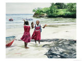 Recess at the Bay, 2002 Giclee Print by Colin Bootman
