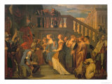 Esther and Ahasuerus Giclee Print by Paolo Veronese