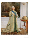 Empress Catherine II Giclee Print by Sergei Varlenovich Pen
