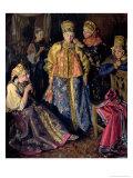 Wedding Dress, 1911 Giclee Print by Ivan Semyonovich Kulikov