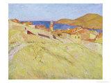 Collioure Landscape Giclee Print by Georges Daniel De Monfreid