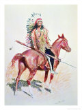 Sioux Chief Giclee Print by Frederic Sackrider Remington