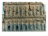 Persian Soldiers, from the Northern Doorway of the Palace of Xerxes Giclee Print by  Achaemenid