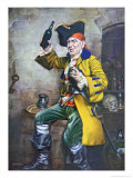 Pirate Type Giclee Print by Arthur Longlands Grace