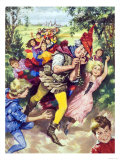 Pied Piper of Hamlin Giclee Print