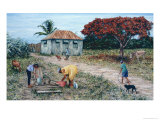 Wash Day Giclee Print by Victor Collector